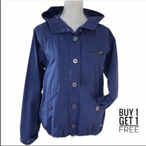 Quicksilver Lightweight Cotton Hooded Jacket Large